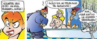 El mejor comic de humor erótico de América Latina
